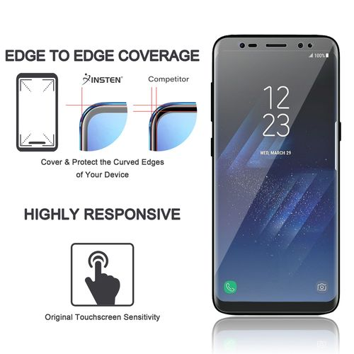 TPU Clear Screen Protector Compatible with Samsung Galaxy