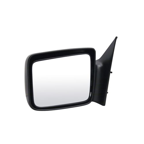 New Pair Set Manual Side View Chrome Mirror for 87-96 Dodge Dakota Pickup Truck