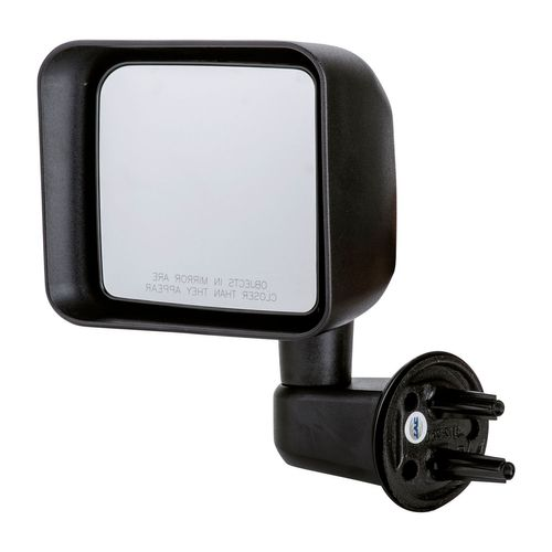 TYC 4130112 Compatible with JEEP Wrangler Driver Side Folding Manual Replacement Mirror