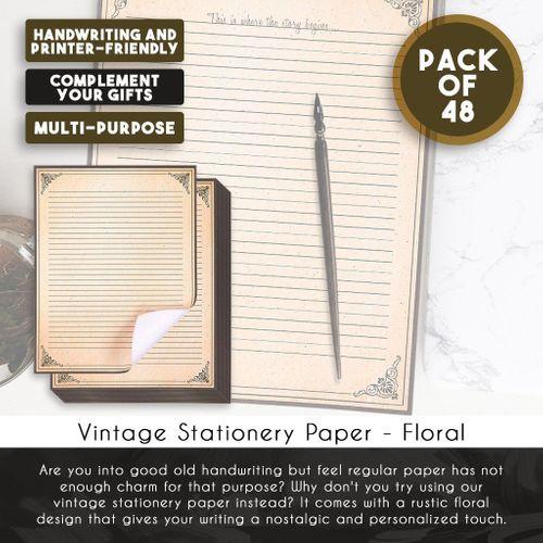 Rustic Vintage Variety Pack Stationary Paper